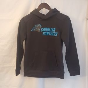 Carolina Panthers Hoodie,  Size youth small